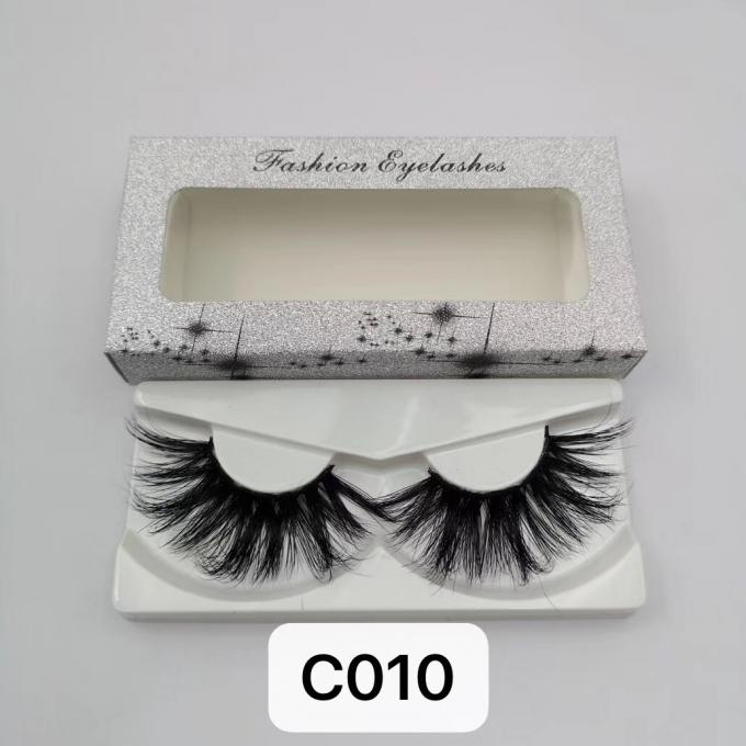 CRULTY FREE BEST REAL MINK EYELASHES PRIVATE LABEL
