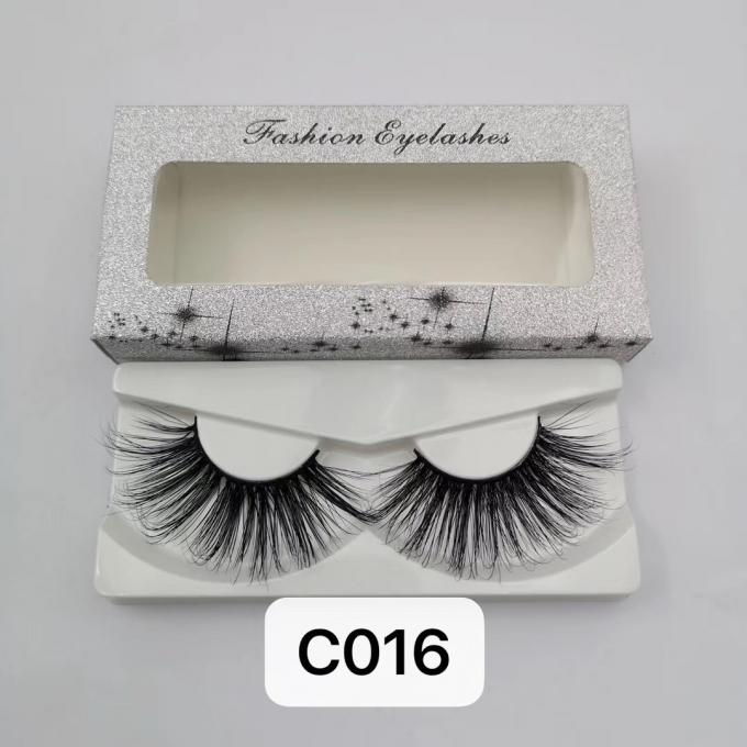 Overlength Fluttery 3d Faux Mink Lashes Vivid 5d ~ 8d Easy Application