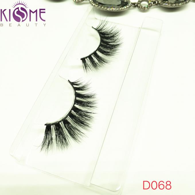 Real Siberian Curl Natural Mink Eyelashes Natural Shining Black Shade