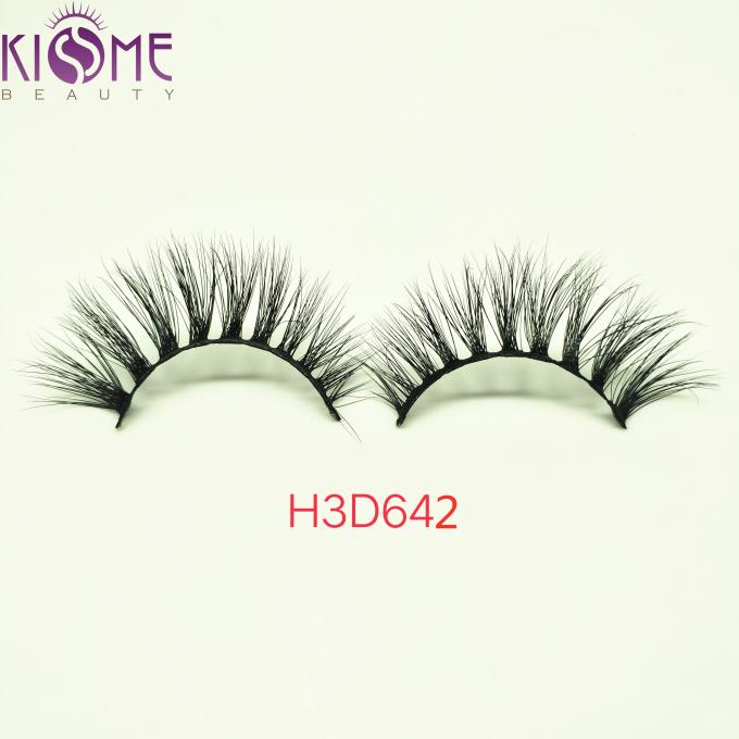 Custom Natural Mink Eyelashes / 100 Siberian Mink Lashes Private Label H3D642