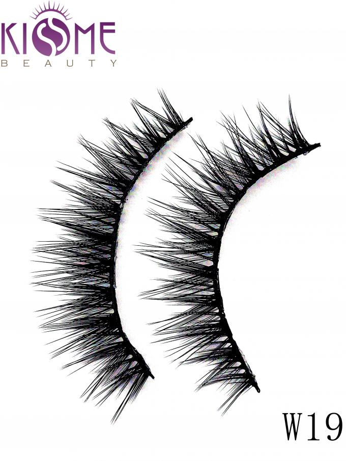 Tipped Soft Silk Volume Lashes Double Layered Multi Size Easy To Shape
