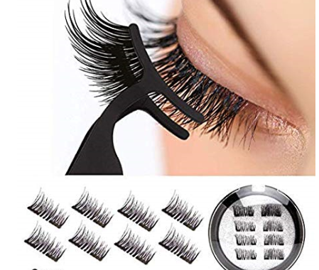 Dual Ultra Thin Magnetic Fake Lashes 0.2mm Light Weight Easy Application