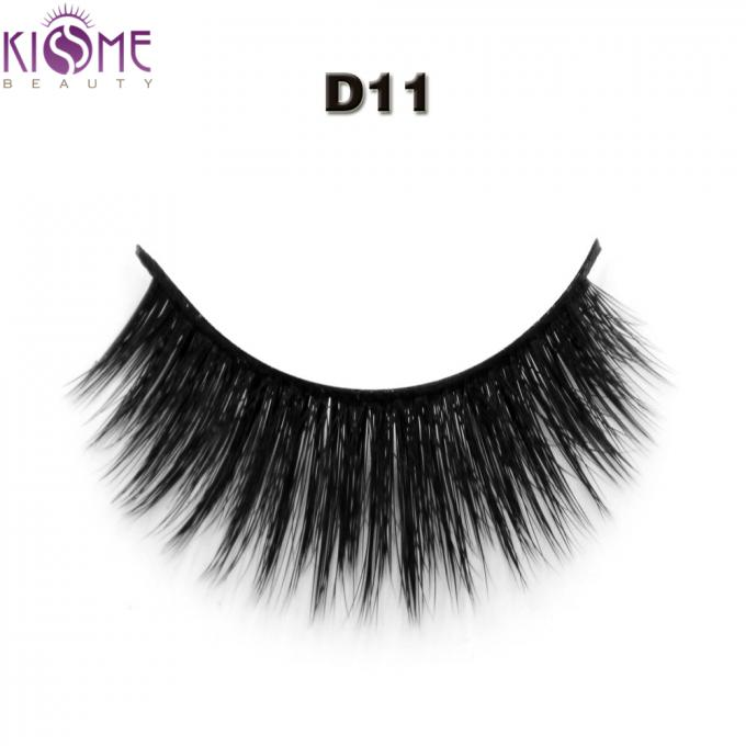 Handmade Wispy Silk Individual Lashes Multi - Layered Medium Long For Daily Makeup