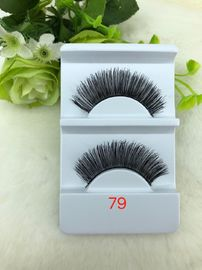 China Fashion Human Hair False Eyelashes Amazing Natural Length For Party Makeup factory