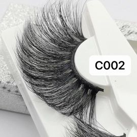30MM OVERLENGTH HIGH QUALITY EYELASH BLACK/CLEAR BAND AVAILABLE