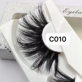 China good quality CRULTY FREE BEST REAL MINK EYELASHES PRIVATE LABEL on sales