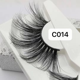5D~8D WHOLESALE PRIVATE LABEL REAL MINK FALSE EYELASHES