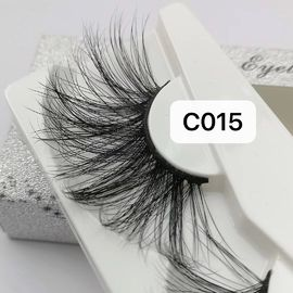 HOT SALE PRIVATE LABEL FASHION REAL MINK FALSE EYELASH