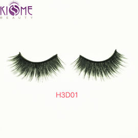 Wispy Thick  Natural Mink Eyelashes Natural Looking Hypo - Allergenic H3D01