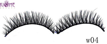 China Cruelty Free Thick Faux Mink Eyelashes Long Lasting For Festival Makeup factory