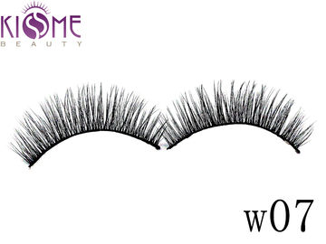 China Volume Fashion Mink And Silk Lashes Faux Mink Individual Lashes For Daily factory