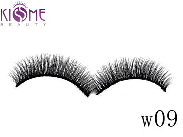 China Sythetic Hair 3D Silk Individual Lashes Soft Double Layered Multi Curls factory