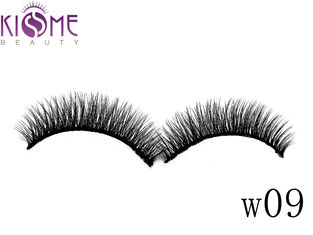 Sythetic Hair 3D Silk Individual Lashes Soft Double Layered Multi Curls