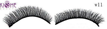 China Flexible Long 3d Silk Eyelashes  Durable 3d False Lashes Easy Apply factory