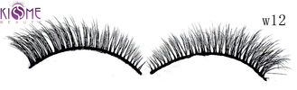 China Reusable Soft 3D Silk Lashes Natural Looking Mink 3d Hair Lashes 0.10mm Thickness factory