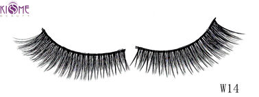 China Glamorous Synthetic Volume 3D Silk Lashes Non - Irritating Long Lasting Time factory