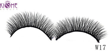 China Popular Fashion Silk Individual Lashes Flexible Band Easy Wear For Daily Makeup factory
