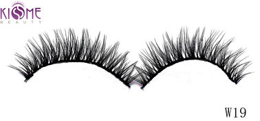China Tipped Soft Silk Volume Lashes Double Layered Multi Size Easy To Shape factory
