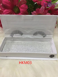 China Amazing Reusable False Eyelashes 100 Human Hair Tapered At The Ends  Hand Tied factory