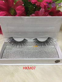 China Natural Looking Individual Eyelashes Human Hair Soft Flexible Band For Lady Makeup factory