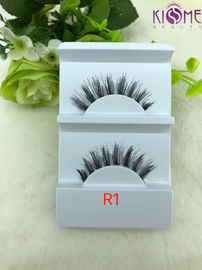 China 100 Real Human Hair Strip Lashes Soft Real Human Hair False Eyelashes factory