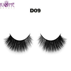 Handmade Thin Natural Looking False Eyelashes 3D Multi Layered 6~20 Mm Length