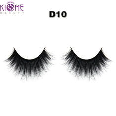 Durable Volume 3D Synthetic False Eyelashes Multi Curls Private Label