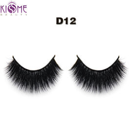 Long Thick Synthetic False Eyelashes Volume Dramatic 3d Silk Eyelashes