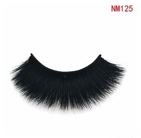 China Fluffy Long 3D Real Mink Eyelash Extensions 18 - 22mm For Wedding / Cosplay factory