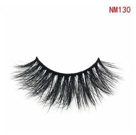 Cosmetic 3D Mink Eyelashes Hair False Eyelashes Wispy Cross Fluffy Unique 3d Lashes