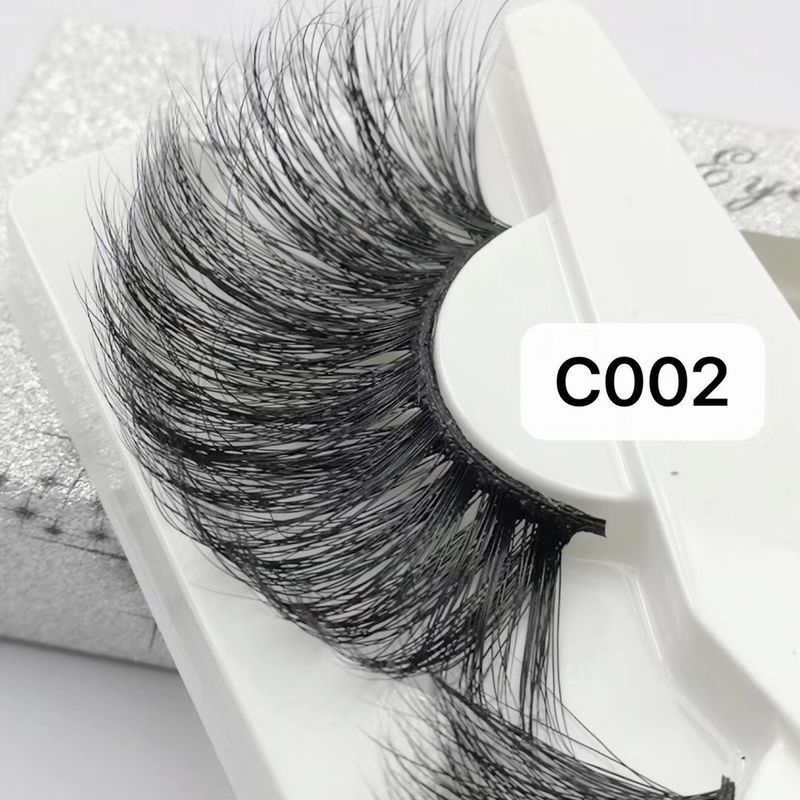 30MM OVERLENGTH HIGH QUALITY EYELASH BLACK/CLEAR BAND AVAILABLE supplier