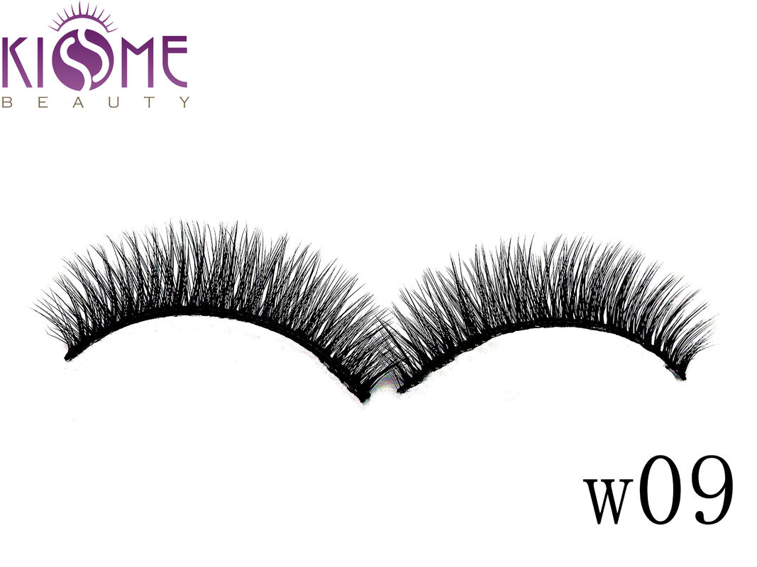Sythetic Hair 3D Silk Individual Lashes Soft Double Layered Multi Curls supplier