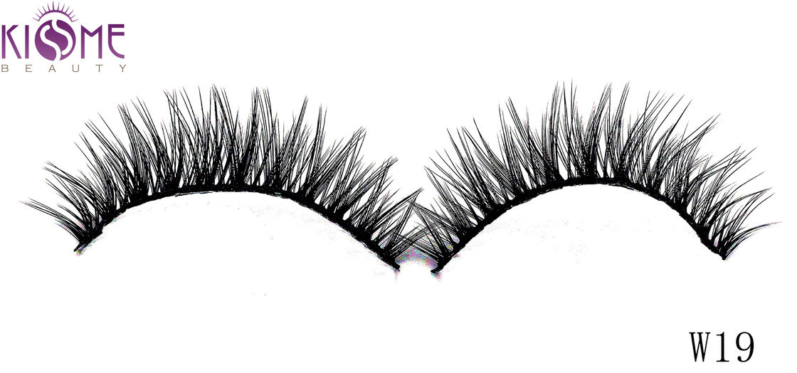 Tipped Soft Silk Volume Lashes Double Layered Multi Size Easy To Shape supplier