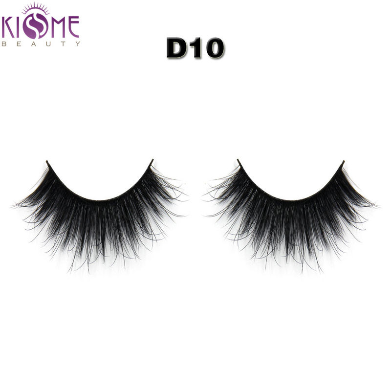 Durable Volume 3D Synthetic False Eyelashes Multi Curls Private Label supplier