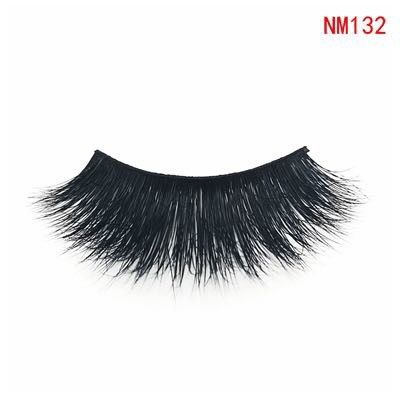 Daily Hand Made 3D Mink Eyelashes Natural False Eyelashes For Beauty NM132 supplier